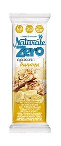 Barra de Cereal Banana Zero Açucar 22g - Naturale
