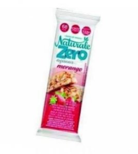Barra cereal zero Açucar Morango 22g- Naturale