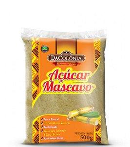 Açucar Mascavo 500g- Dacolônia