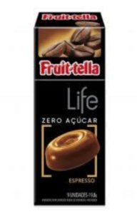 Bala Fruittella Live Zero Açucar Expresso  19g- Perfetti