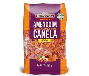 Amendoim doce crocante cri cri com canela 120g - Dacolônia
