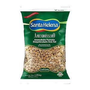 Amendoim Torrado e Despeliculado sem sal 1Kg Santa Helena