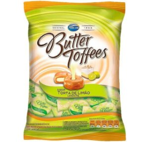 Bala Butter Toffees Limão 500G - Arcor