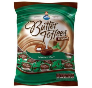 Bala Butter Toffees Menta 500G - Arcor