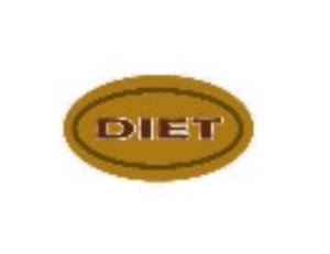 Etiqueta Adesiva Decorativa  Diet- Eticol