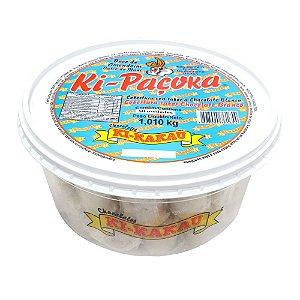 Paçoca coberta com chocolate branco com 50 unidades - Kikakau