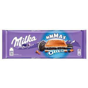 Chocolate Milka Mmmax Oreo 300g - Importado da Alemanha