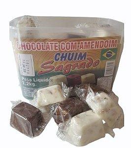 Chocolate com Amendoim Chuim c/ 50 unidades - Sagrado
