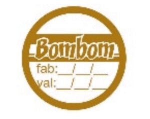 Etiqueta Adesivo Bombom c/ Validade - Eticol