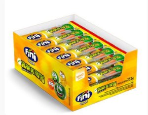 Chicle Salada de Frutas Azedinhas 18inid - Fini