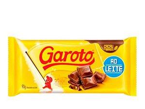 Tablete Garoto Ao Leite 90g