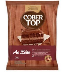 Cobertura Fracionada Cober Top Ao Leite 1,01kg - Bel Chocolates