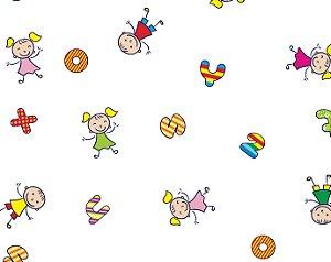 Saco Transparente Decorado Festa Kids 35x54cm com 50 unidades  - Packpel