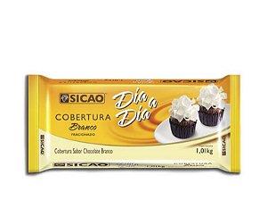 Cobertura dia dia chocolate branco  1,01kg - Sicao