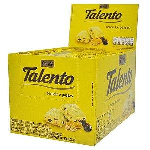 Talento cereais e passas 12x90g - Garoto
