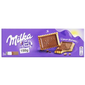 Milka Choco Biscuit 150g - Importado Alemanha