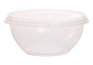 Pote Bowl com tampa 750ml com 16 unidades - Prafesta