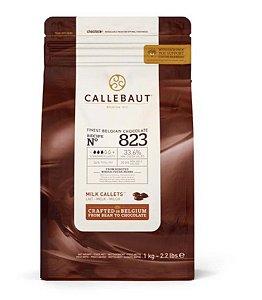 Chocolate Callebaut ao Leite 33,6% Cacau (823) 1kg - Callebaut