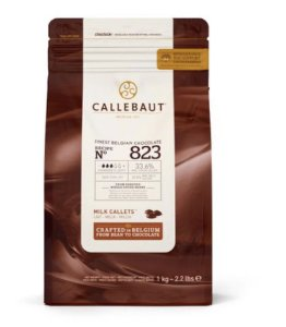 Chocolate Callebaut ao Leite 33,6% Cacau nº 823 1kg - Callebaut