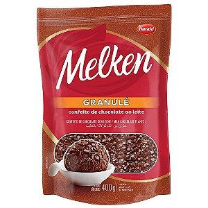 Chocolate granulado Granulé 400g Melken - Harald