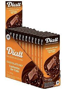 Chocolate diet castanha de caju 12x25g - Diatt