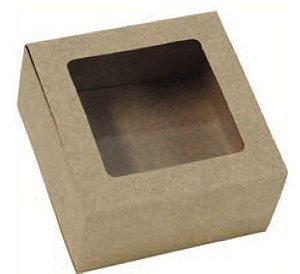 Caixa gaveta com visor para 4 doces (cód. 0990) c/ 10 un - Ideia