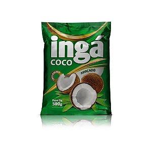 Coco ralado adoçado 500g - Ingá