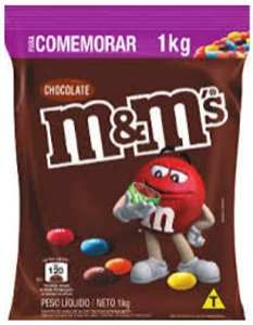 Chocolate M&M 1Kg - Mars