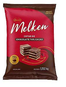 Melken Gotas de Chocolate 70% Cacau 1,050 Kg - Harald