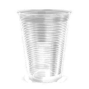Copo descartável linha transparente 300 ml com 100 unidades - Minaplast
