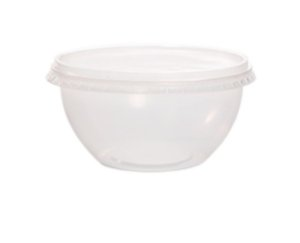 Pote Bowl 750ml com tampa c/ 16 unidades - Prafesta
