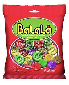 Bala Balalá sabor frutas 500g - Boavistense
