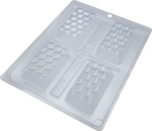 Forma Especial Silicone Mini Tablete 3D (cód 9904) - BWB