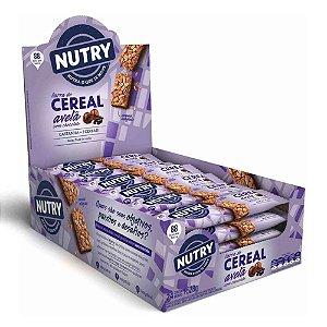 Barra De Cereal sabor Avelã com 24 Unidades - Nutry