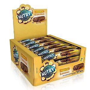 Barra De Fruta Banana e Chocolate com 24 unidades - Nutry