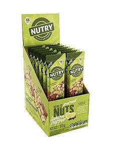 Barra De Nuts Lemon Pepper Limão e Pimenta com 12 unidades - Nutry