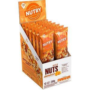 Barra De Nuts sabor Damasco com 12 unidades - Nutry