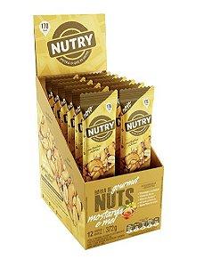 Barra De Nuts Mostarda e Mel com 12 unidades - Nutry (validade na descrição)