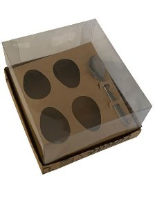 Caixa Mensagens Ovo de colher 4 de 50g com 10 unidades - Curifest
