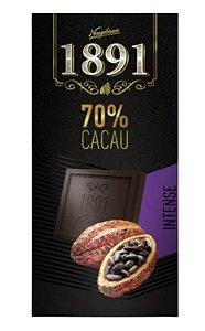 Tablete 1891 Intense 70% Cacau 10 un x 90g - Neugebauer