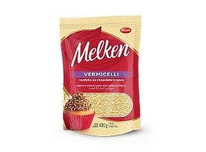 Confeito de chocolate branco Vermicelli 400g-Melken