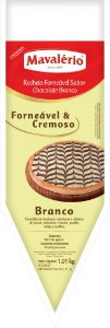 Recheio Forneavel Chocolate Branco 1,01kg - Mavalerio