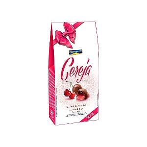 Bombom de chocolate ao leite com recheio de cereja 55g - Montevergine