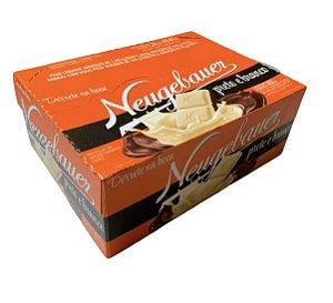 Caixa Barra Chocolate Preto e Branco c/14 unidades de 90g - Neugebauer