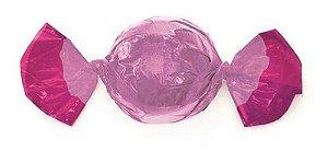 Embalagem para trufão Rosa Chiclete 20x18 cm - Carber