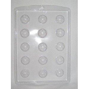 Forma de acetato bolinhas de futebol (Ref. 303) - freebox