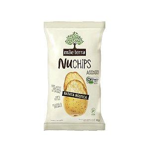 Snack Nuchips de Batata Rústica e Orgânica 32g -Mãe terra