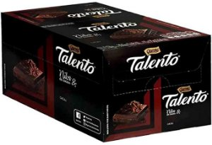 Chocolate Talento Dark Nibs 70% cacau com 15 unidades de 75g - Garoto