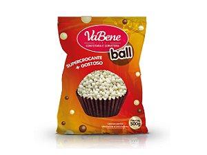 Confeito Cereal Micro Com Cobertura Sabor Chocolate Branco 500g - Vabene