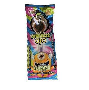 Pirulito Luminox Ojo Neon com 24 unidades -  Las Delicias